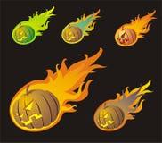 Cometas de Halloween Imagens de Stock Royalty Free