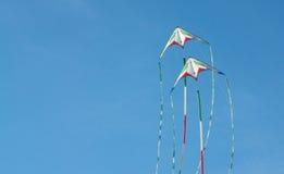 Cometas del vuelo Fotografía de archivo libre de regalías