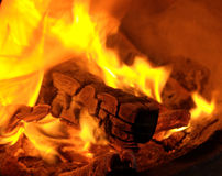 The comfort of fire Royalty Free Stock Photography