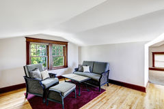 Comfort sitting area with window Stock Photo