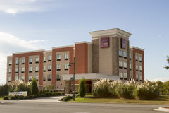 Comfort suites brand chain hotel Royalty Free Stock Photography