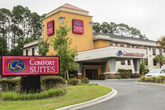Comfort Suites Hotel Stock Image