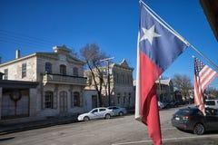 Comfort, Texas, USA street view Royalty Free Stock Photo