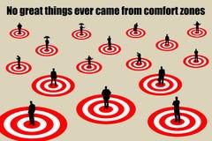 Comfort zones Stock Photography