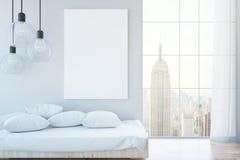 Comfortabel binnenland met whiteboard vector illustratie
