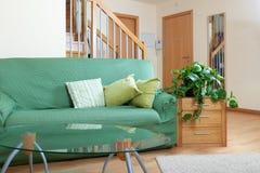 Comfortabel binnenland van woonkamer Royalty-vrije Stock Afbeeldingen