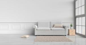 Comfortabel binnenlands ruimteontwerp Stock Foto