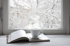 Comfortabel de winterstilleven Royalty-vrije Stock Afbeelding