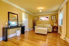 Comfortabel zittingsgebied Het binnenland van de familieruimte Stock Fotografie