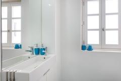 Comfortabele badkamers Stock Afbeelding