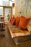 Comfortabele cafetaria royalty-vrije stock fotografie