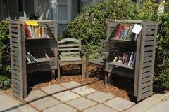 Comfortabele Hoekbibliotheek Stock Fotografie