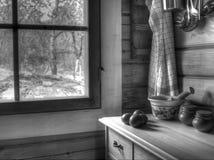 Comfortabele keuken Stock Foto's