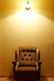 Comfortabele leunstoel Royalty-vrije Stock Fotografie
