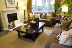 Comfortabele levende 3 royalty-vrije stock afbeelding