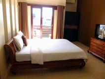 Comfortabele slaapkamer Royalty-vrije Stock Foto