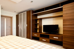 Comfortabele slaapkamer Royalty-vrije Stock Fotografie