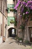 Comfortabele straat. Royalty-vrije Stock Foto