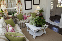 Comfortabele woonkamer stock afbeelding