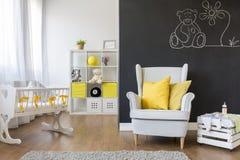 Comfortable armchair for mum Stock Photo