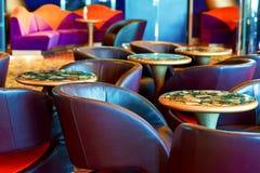 Comfortable bar interior Royalty Free Stock Image