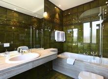 Comfortable bathroom Stock Image