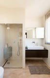 Comfortable bathroom Stock Images