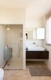 Comfortable bathroom Stock Images