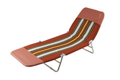Comfortable beach bench Stock Photography