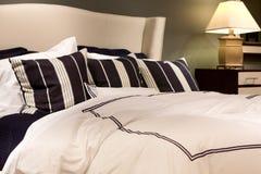 Comfortable bed Stock Photos