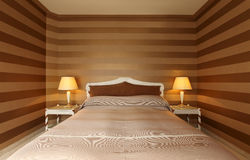 Comfortable bedroom Stock Image