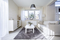 Comfortable and bright interior Royalty Free Stock Image