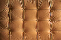 Comfortable Buttoned Leather Pattern Stock Images