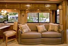 Comfortable camper interior Stock Photo