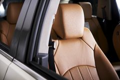 Comfortable Car Seat Royalty Free Stock Photos