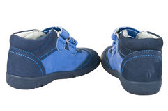 Comfortable children's shoes Royalty Free Stock Image