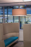 Comfortable Commercial Seating Area in Office Stock Image