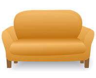 Comfortable home modern sofa Stock Photography