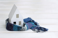 Comfortable insulated house Stock Images