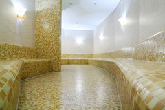 Comfortable light turkish bath Royalty Free Stock Photo