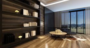 Comfortable living room interior in a stylish home Royalty Free Stock Photos