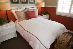 Comfortable modern bedroom Stock Image