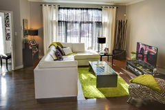 Living room. Royalty Free Stock Images