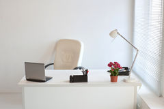 Comfortable modern office. Interior of a comfortable modern office Stock Photography