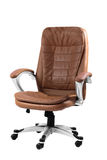 Comfortable office chair isolated on white Royalty Free Stock Photos