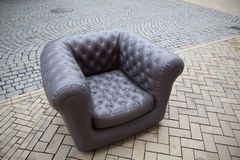 Comfortable outdoor chair Royalty Free Stock Photo