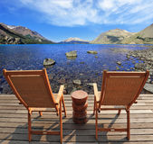 The comfortable place in Patagonia Royalty Free Stock Image