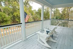Comfortable porch Stock Photos