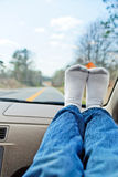 Comfortable on the road Royalty Free Stock Images