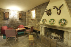Comfortable room. In a mountain hotel; Pineta valley; spain Stock Photography
